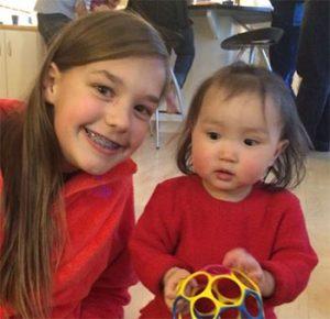 Annie and Otgonzaya